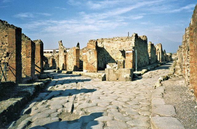 město Pompeje