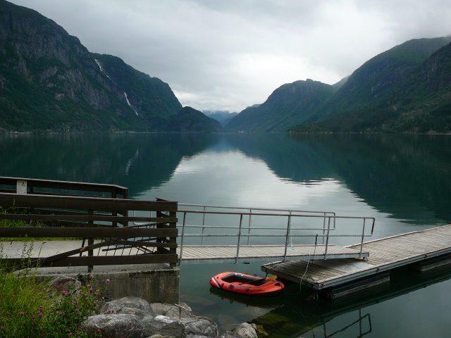 Jedno z jezer u Bergenu
