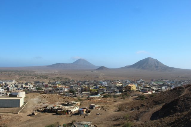 Hlavní město ostrova SAL - Espargos