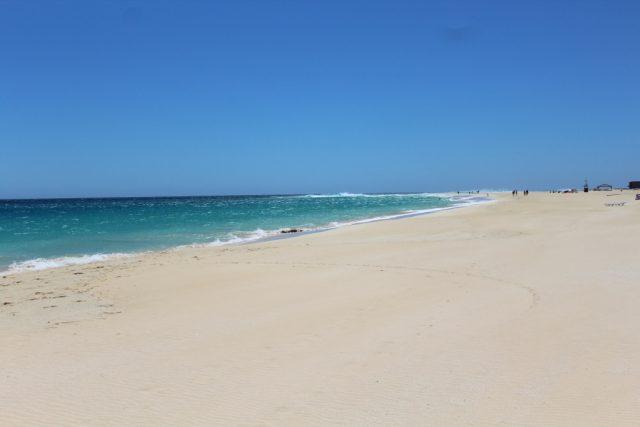 Pláž na ostrově SAL