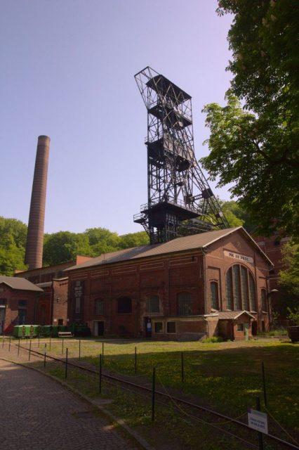 Bývalý důl Anselm, dnes hornické muzeum - Landek Park