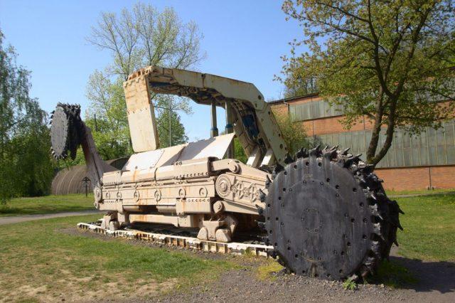 Důlní stroj - Landek Park