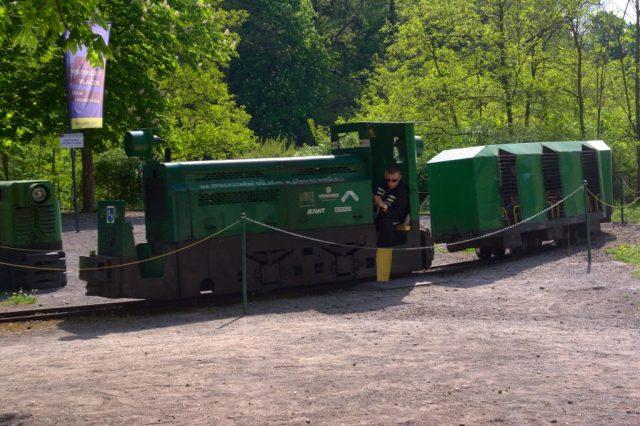Důlní vlak v Landek parku