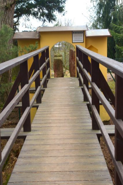 """""""Vzdušný most"""" u arboreta v Žampachu"""