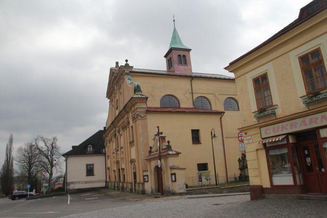 Náměstí v Letohradu