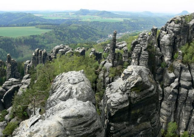 Výhled z Breite Kluft