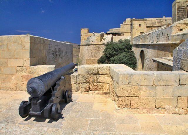 Il-Kastell - pevnost ve městě Victorie na ostrově Gozo.
