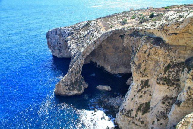 Mořské jeskyně Blue Grotto - Malta