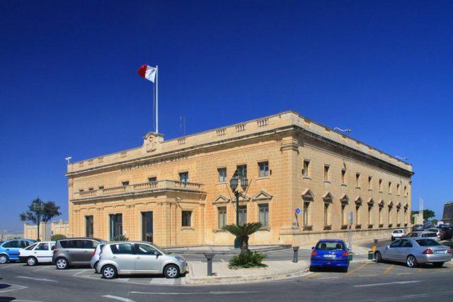 Valletta - hlavní město Maltské republiky