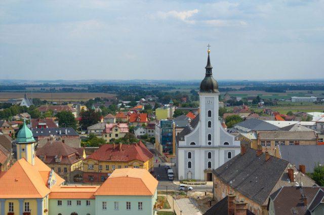 Výhled na Javorník z Eichendorffovy vyhlídky