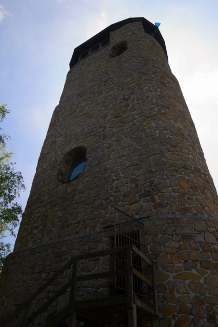 Rozhledna na vrcholu Brdo, Chřiby
