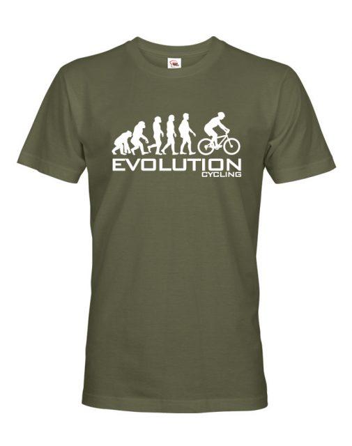"""Pánské tričko """"Evoluce cyklistiky"""""""