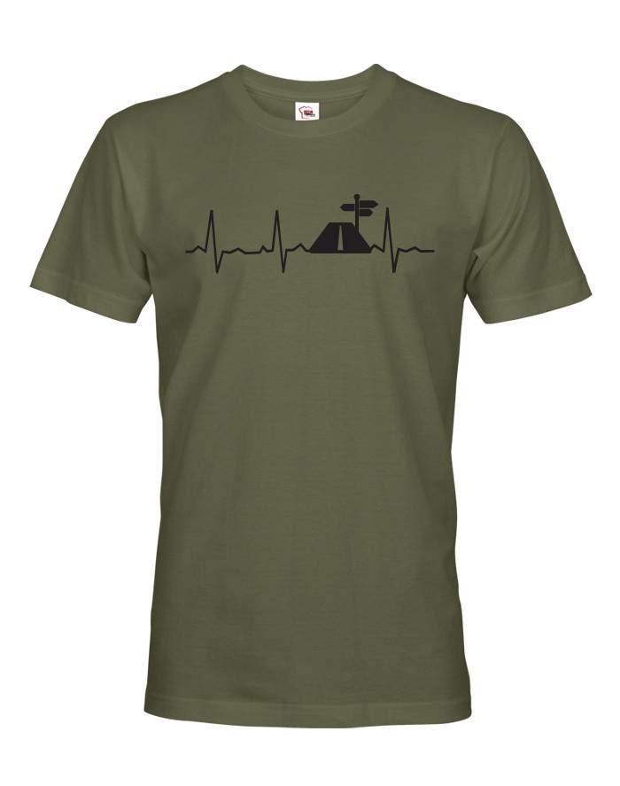 Pánské triko Tep cestovatele