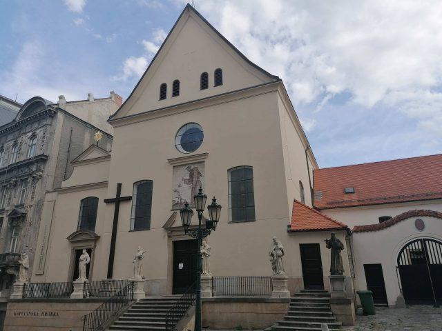Kostel Nalezení svatého kříže na Kapucínském náměstí