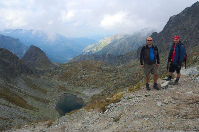 Já a Honza na Polském hřebeni - Vysoké Tatry